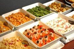 土日祝限定! 前菜10種ビュッフェ食べ放題付きランチ