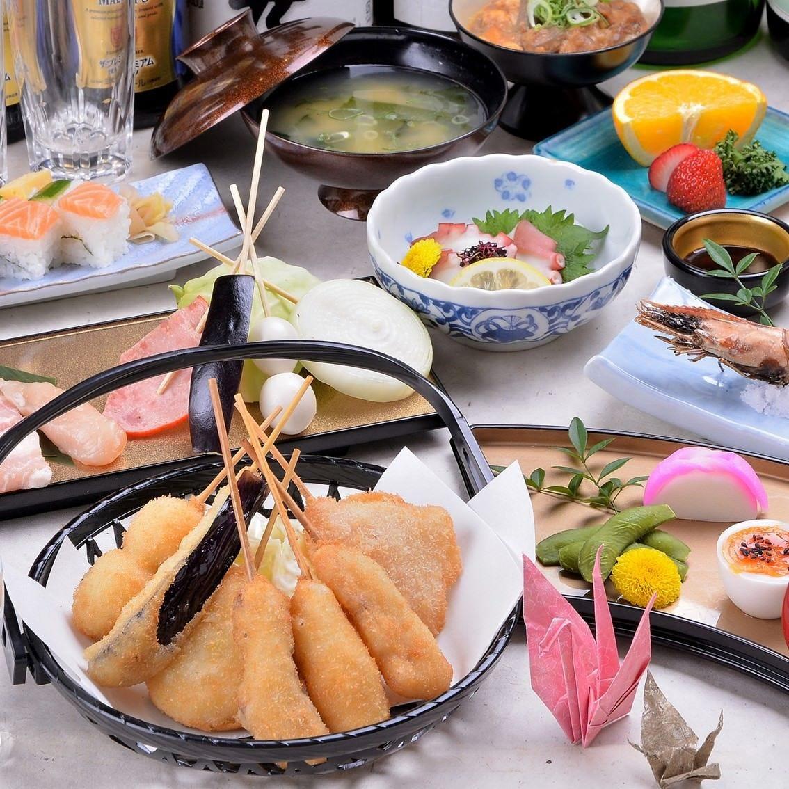 大阪の名物料理が楽しめるプランをご用意。