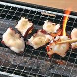 【北海道産】漬け北海たこの焼しゃぶ刺し