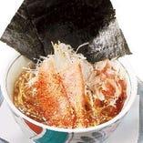 【大分 桃太郎海苔使用】旨みたっぷり!!鮪ラーメン