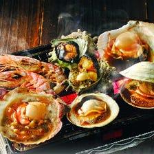 漁師の粋 浜焼(卓上焼)