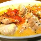 鶏チーズ焼き