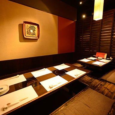 京やさい料理 接方来 京都タワー店 店内の画像