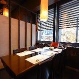 〈接待にもおすすめ〉 少人数個室が充実。ビジネスシーンに最適