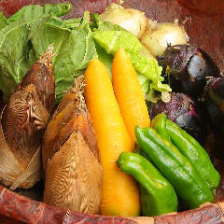 季節の野菜を使った京からの贈り物