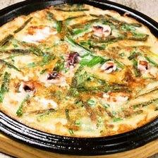 美味しい韓国料理も充実♪