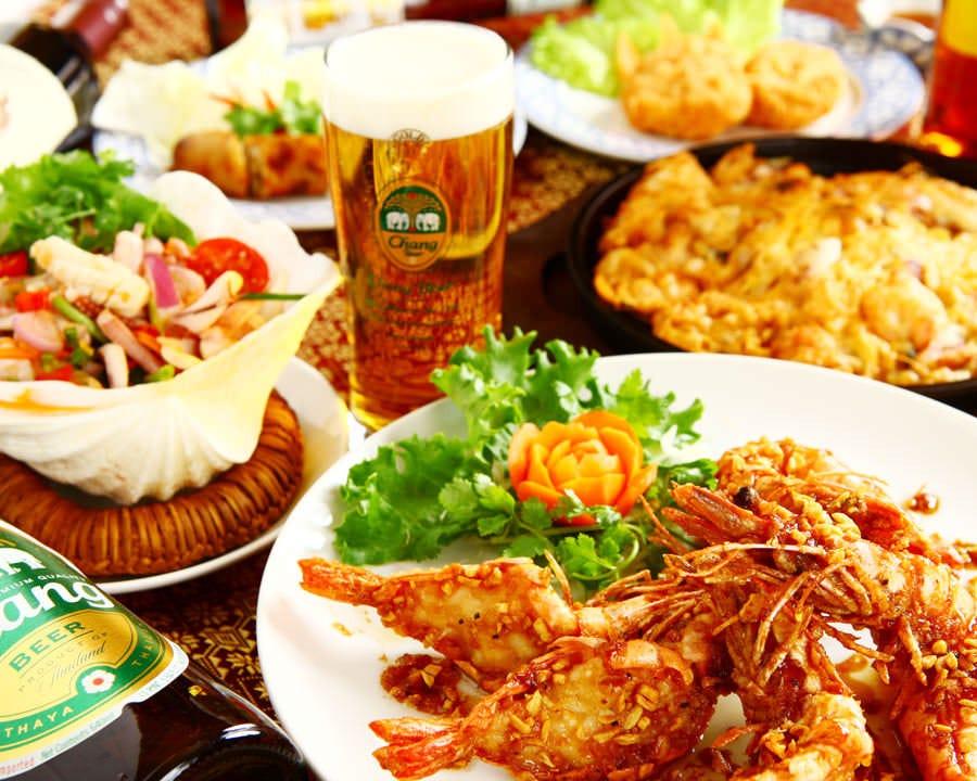本格タイ料理を満喫できます!