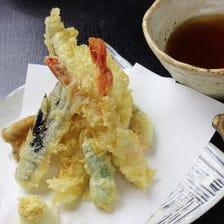 天ぷら・逸品