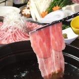 伊都野菜と糸島豚のしゃぶしゃぶ
