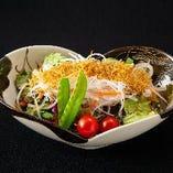 ジャコと大根の梅サラダ