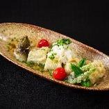焼きナスの天ぷら