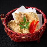 カンパチ柚庵焼きの天ぷら