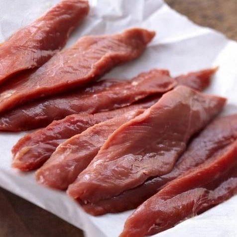 新鮮地元産鴨肉