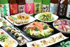 日本酒×北海道食材 地元家 函館総本店