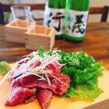 日本酒と焼肉が楽しめる大人の焼肉店