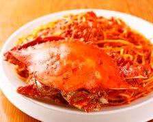 当社35年1番人気 『渡り蟹のスパゲッティ』