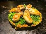 牡蠣ねぎ焼き