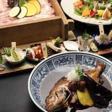 ◆【ご宴会】お肉もお魚も揃うご宴会におすすめの内容『魚魯魚魯味わいコース』[全8品]