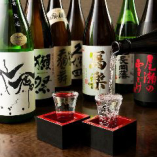 全国各地の日本酒が大集合!季節の日本酒も取り揃えております。