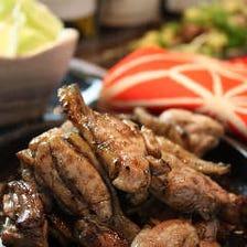 宮崎県西都市最高級プレミアム 妻地鶏もも焼き