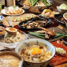 九州名物の料理をご堪能!