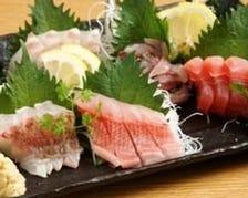 三浦半島直送の鮮魚料理
