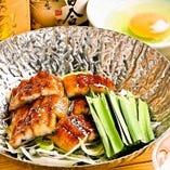 鰻と葱の玉子とじ 小鍋仕立て