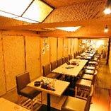 ◎【大規模宴会におすすめ】テーブル部屋 8名~10名様×3室。最大30名様まで対応可能!