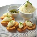 北仏の田舎料理 『タラとジャガイモのディップ ブランダード』
