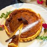 流行りの『バスク風チーズケーキ』