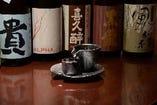 ビールはもちろん、日本酒や焼酎も豊富に揃えております