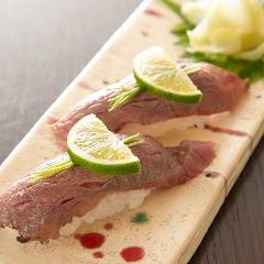 近江牛の特選炙りにぎり寿司