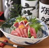 マグロと日本酒の相性は折り紙つきです♪