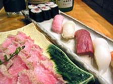旬の魚介の寿司