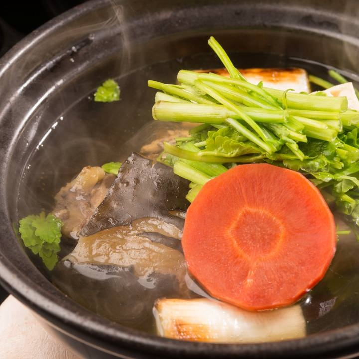 特製 天然すっぽん鍋