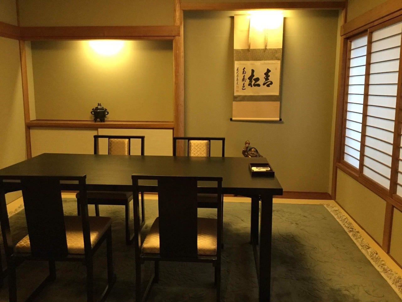 接待・会食にも最適な個室