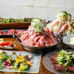 ワイン100種飲み放題 大衆和牛酒場 コンロ家 飯田橋店