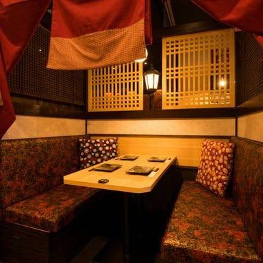 隠れ家個室本格串焼専門店鳥心(とりしん) 名駅店 店内の画像