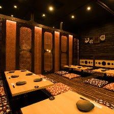 ◆2~20名様までの完全個室空間◆