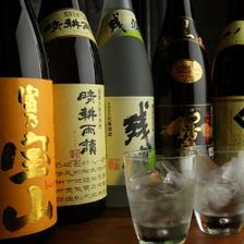 料理に合う地酒の種類も豊富
