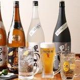 豊富に取り揃える九州の地酒・本格焼酎【九州】