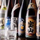 プレミアム飲み放題は焼酎や日本酒の地酒が充実!絶品の鶏料理とよく合います♪