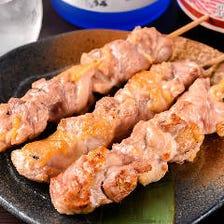 【数量限定】はかた地鶏串 (塩・タレ)
