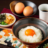 地卵「つまんでご卵使用」 究極のTKG