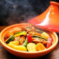 モロッコ風スパイスタジン鍋