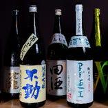 串料理に合うドリンクは豊富!日本酒は様々な銘柄をご用意!
