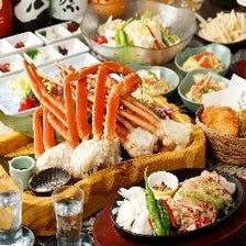 漁港直送の新鮮鮮魚や蟹、伊勢海老◎