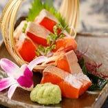 海鮮が自慢!料理長が厳選した新鮮鮮魚を堪能下さい♪