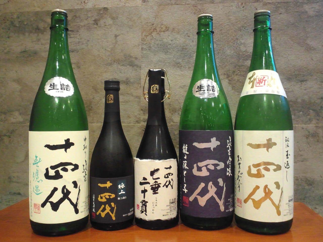 日本酒の生酒にこだわりがあります