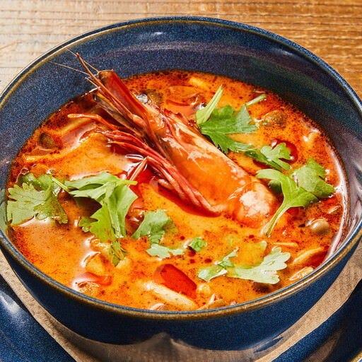 日本人シェフが作る本格タイ料理
